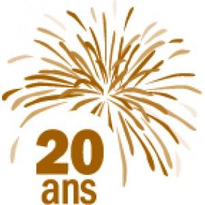 Accompagnant auteur - Réservation Gala du 20e anniversaire